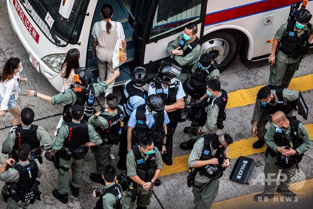 米政府、香港への武器輸出停止 ビザめぐる中国への報復措置
