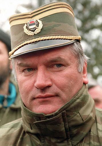 ボスニア戦犯ムラディッチ被告の捜索