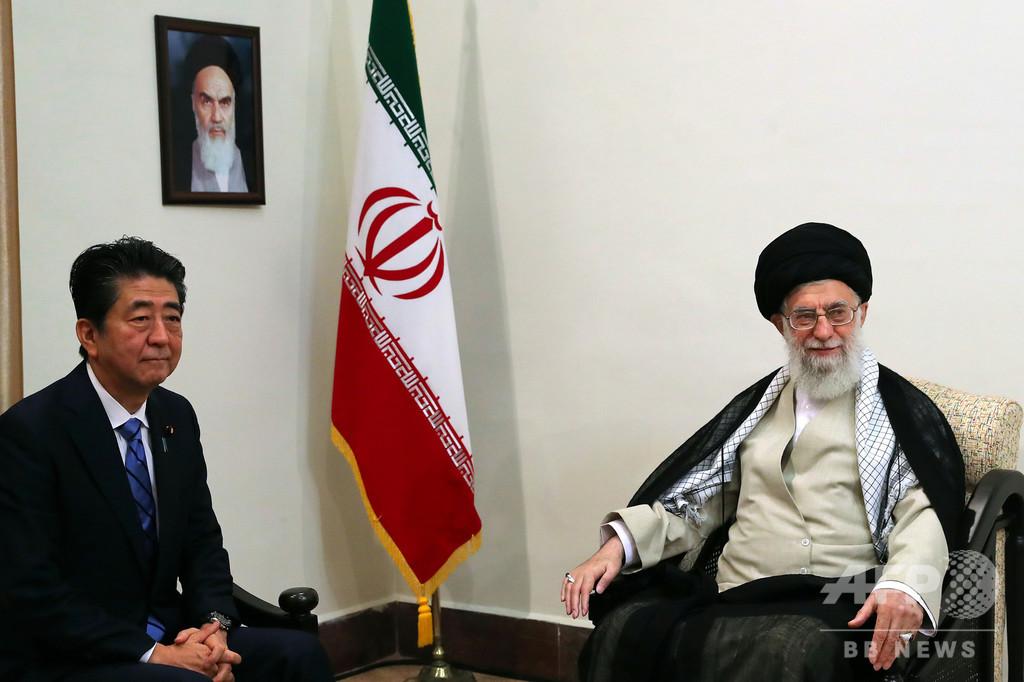 安倍首相、イラン最高指導者と会談 ハメネイ師はトランプ氏との対話拒否