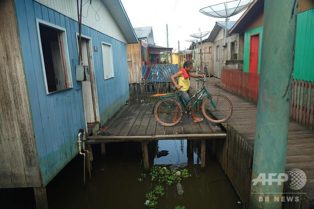 新型コロナによるパニック、南米アマゾン最奥地にも到達 ブラジル