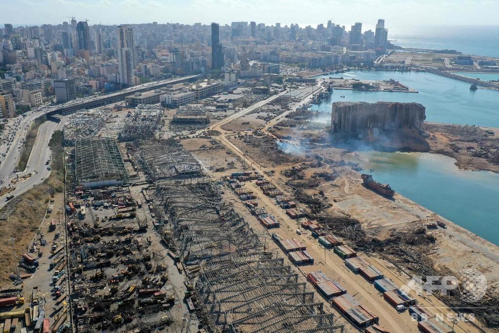 レバノン爆発、死者137人に 経済危機に続く惨事に国民怒り