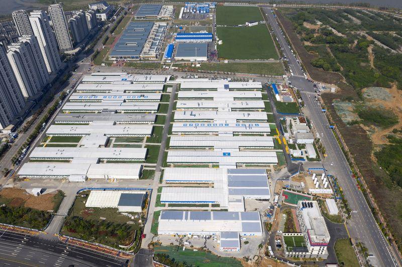 武漢の臨時医療施設、コロナ対応で不可欠 中国国家衛生健康委