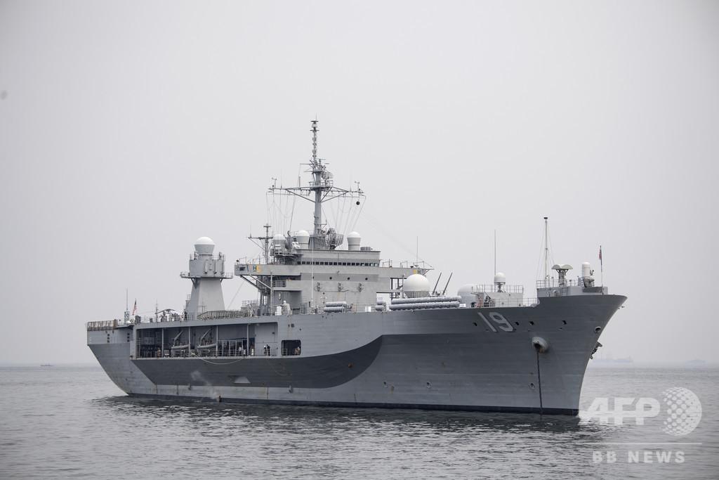 日米韓豪の合同軍事演習、グアム沖で始まる