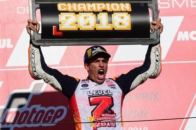 マルケスが日本GP優勝、通算5回目のMotoGP年間王者に決定