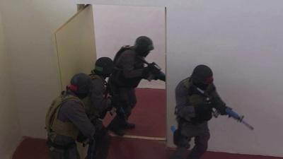 動画:米ヨルダン合同、テロ対策訓練センター開設
