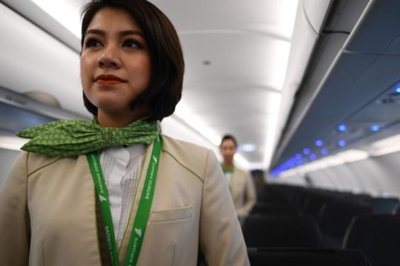【今日の1枚】イメージカラーは竹の色 ベトナムで新規参入の航空会社