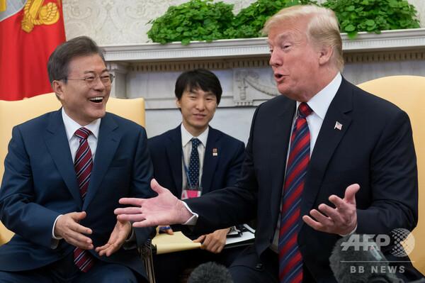 米韓FTA見直し完了 トランプ氏、今月中にも署名用意ありと発言
