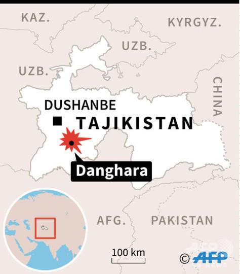 タジキスタンで欧米人襲撃、4人死亡 ISが犯行声明