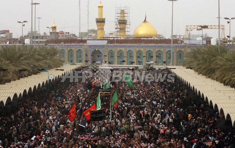 イスラム教シーア派の宗教行事「アルバイン」、数百万の巡礼者が参加