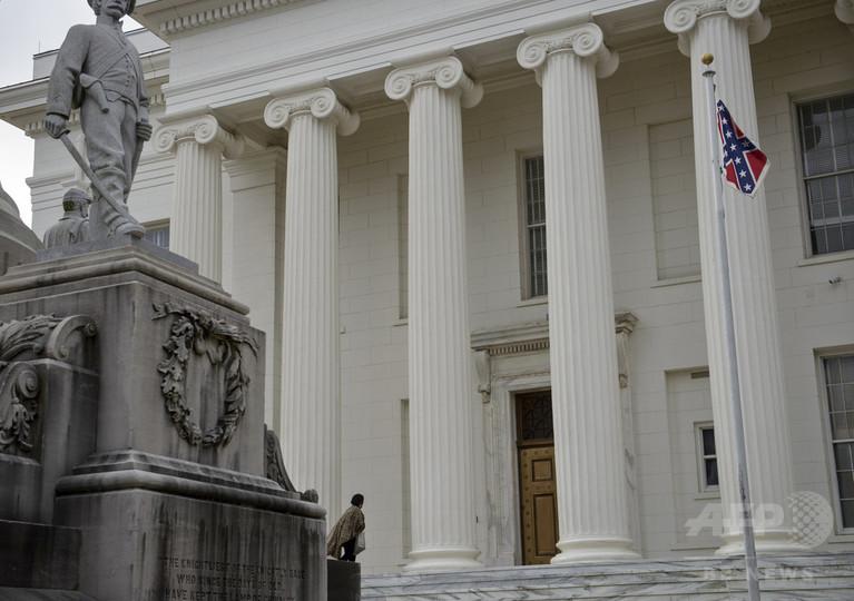 米アラバマ州が「南部連合旗」を撤去