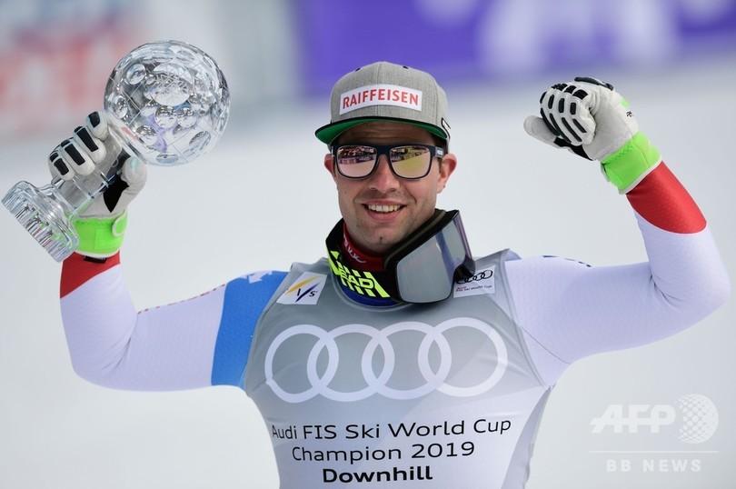 フォイツとシュミットホファーが種目別優勝、アルペンW杯滑降