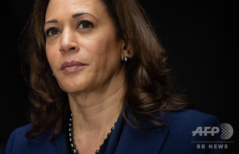 米民主党ハリス議員が出馬表明 黒人女性初の大統領目指す