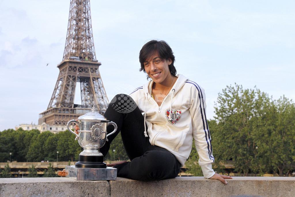 スキアボーネが初優勝、全仏オープン