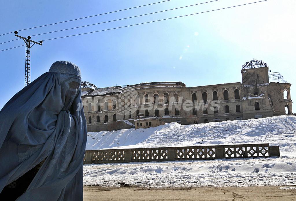 アフガニスタン大寒波、死者320人超、家畜被害も甚大