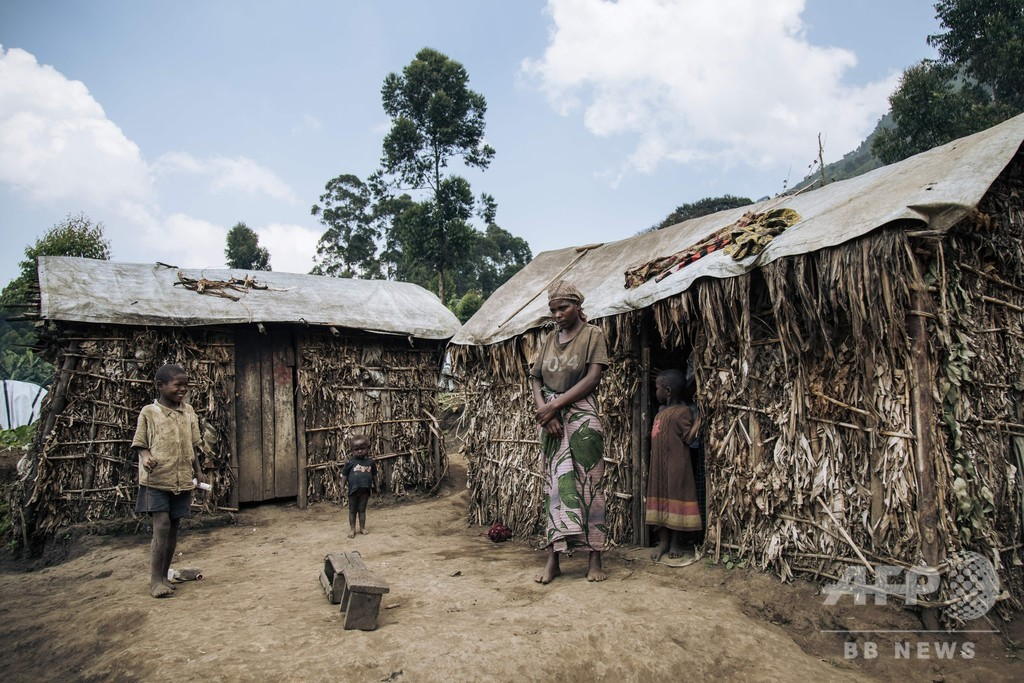 コンゴ、8か月で民間人約1300人死亡 避難者50万人超