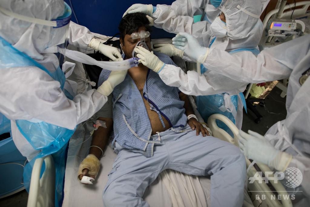 インド、コロナ感染者100万人超え 外出制限再導入の動き広がる
