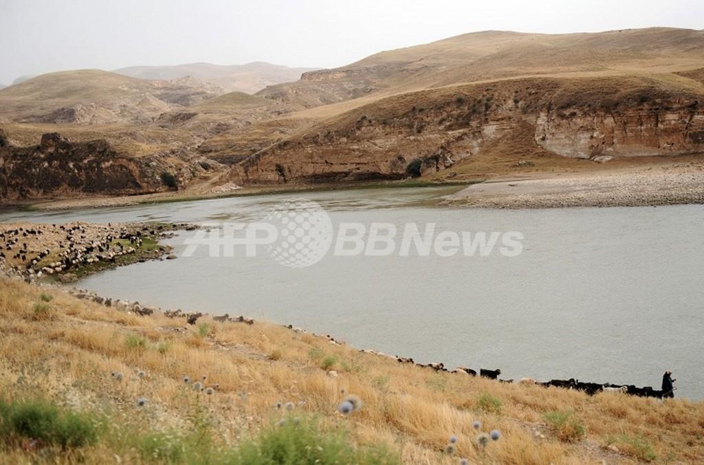 チグリス・ユーフラテス川流域、水資源が大幅減少 米研究