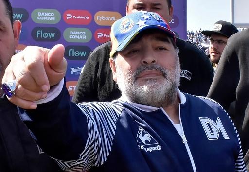 マラドーナ氏がヒムナシアの監督に復帰、辞任からわずか2日