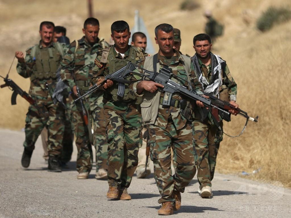 モスル近郊で米軍人1人死亡 奪還作戦の支援に従事か