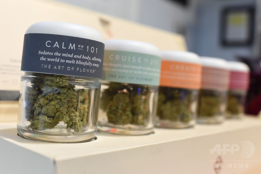 1月1日から嗜好用大麻が解禁に 米カリフォルニア州