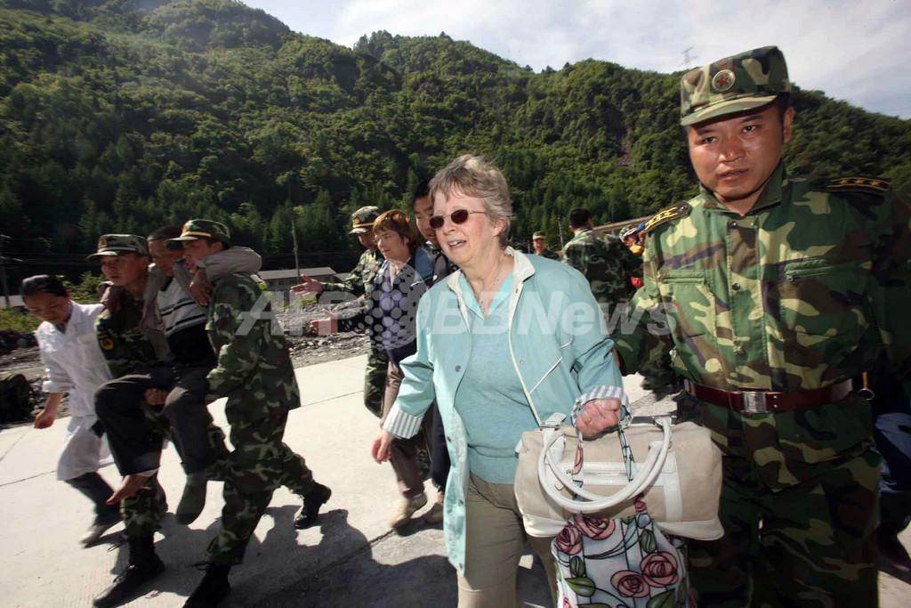「パンダも木にしがみついていた」、四川大地震を経験した米国人ツアー客が語る