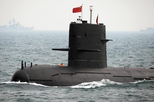 米イージス艦のソナー、フィリピン沖で中国潜水艦と接触