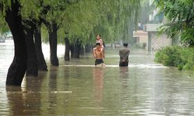 北朝鮮北東部で「史上最悪」の洪水、4万4000人が避難