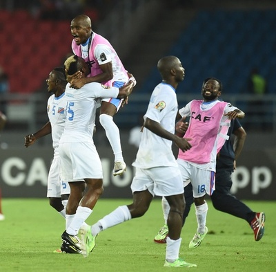 コンゴ民主共和国が「コンゴダービー」制し準決勝へ アフリカネーションズカップ