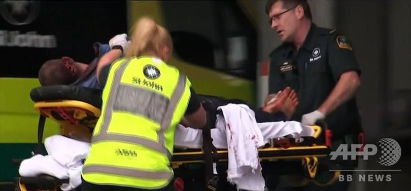 NZモスク銃乱射、49人死亡20人以上重傷 ネットで犯行中継か