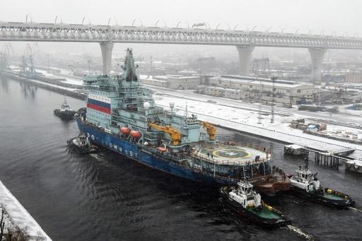 ロシアの原子力砕氷船「アルクチカ」、試験航行終え帰還
