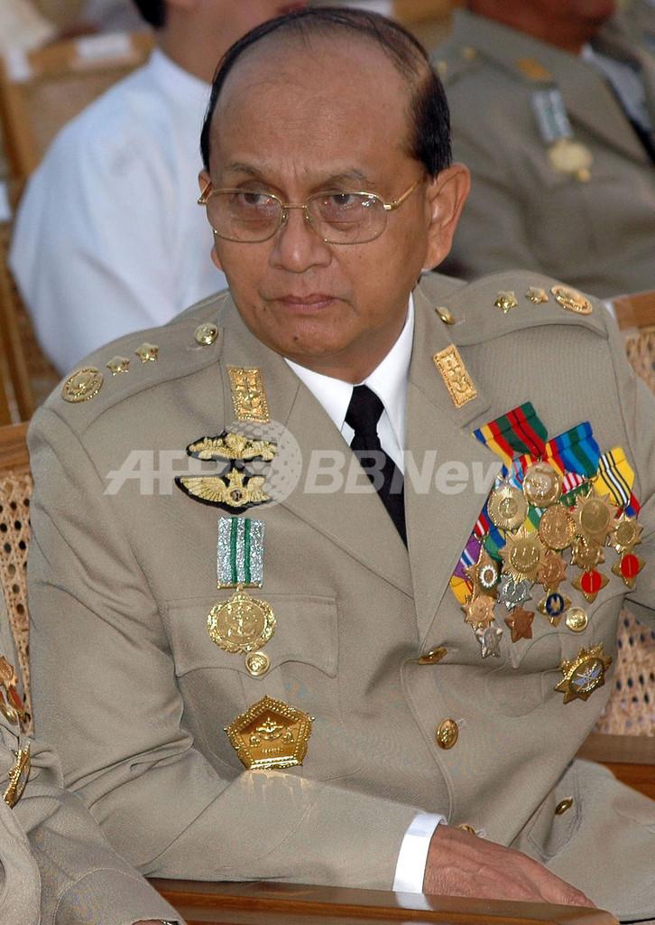 ミャンマー大統領にテイン・セイン首相
