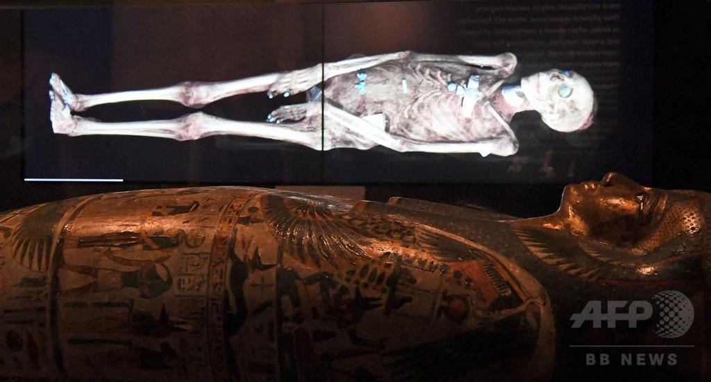 古代エジプトのミイラの内部、最新技術で初めてあらわに
