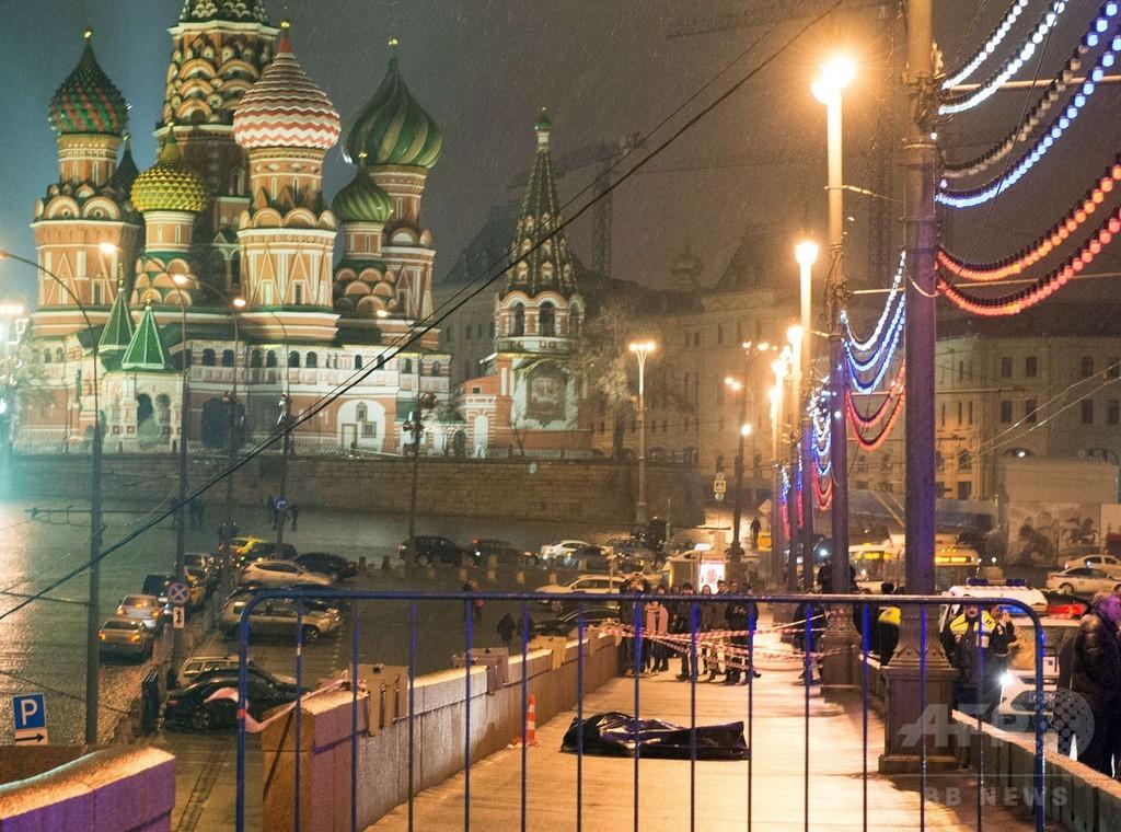 「卑劣な殺人」、米大統領がネムツォフ氏射殺を非難