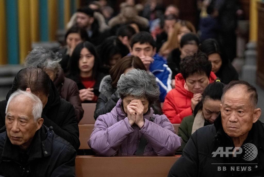 中国とバチカン、司祭任命権の歴史的合意を2年延長 中国発表