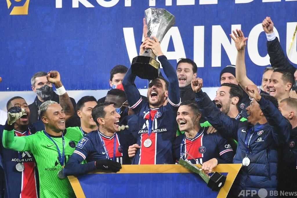 PSGが仏スーパー杯制覇 復帰のネイマールが決勝点