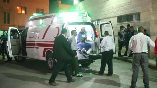動画:ヨルダン観光地で刃物による襲撃、外国人ら8人負傷