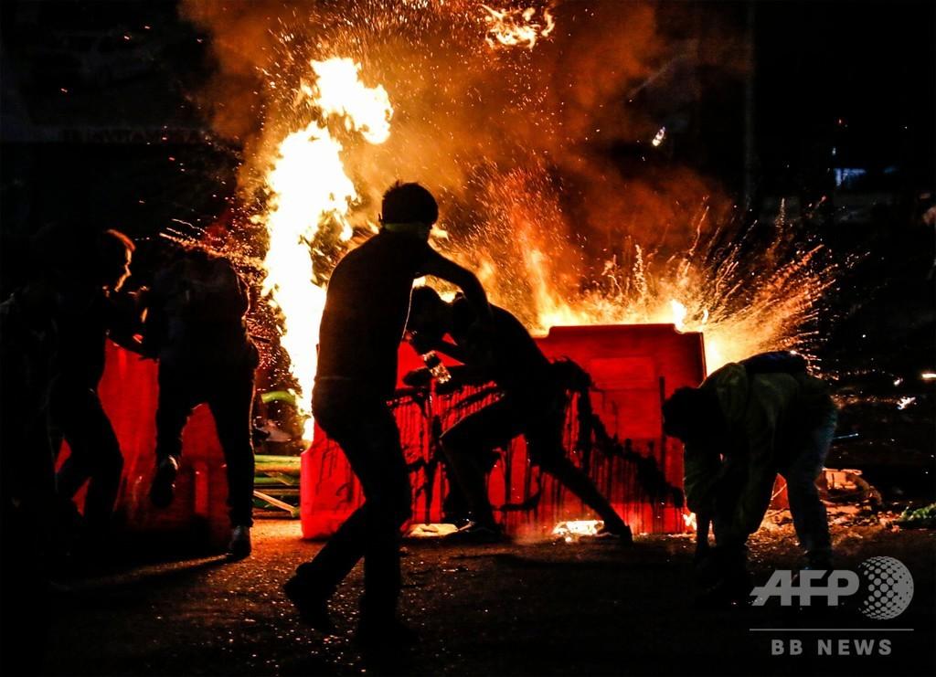 コロンビア、警察暴力への抗議デモが暴動に発展 10人死亡