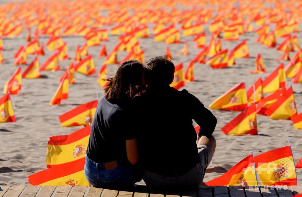 スペイン、コロナ感染者100万人超に EU初