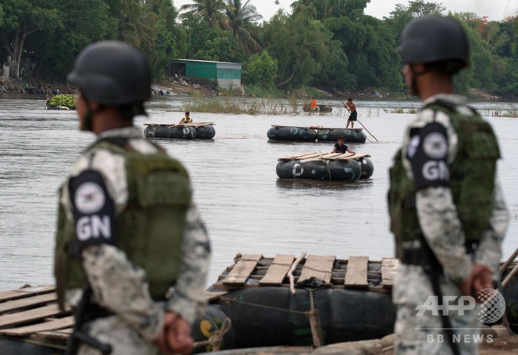 メキシコ政府、グアテマラ国境に国家警備隊の「永続的な配備」開始