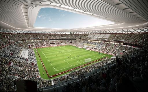 W杯史上初の「再利用可能」スタジアム、カタール大会組織委が発表