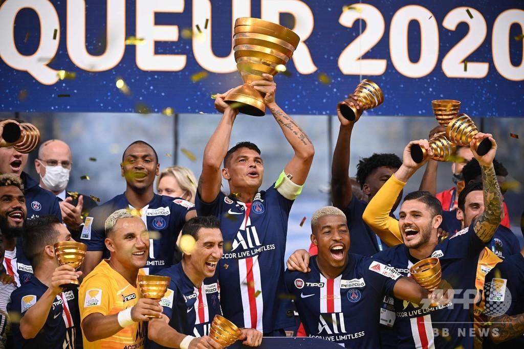 PSGが国内3冠を達成、リーグ杯でPK戦の末リヨン下す