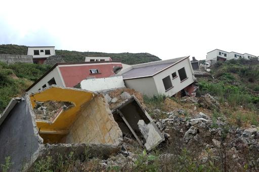 不安定な地盤上に住宅建設、倒壊相次ぐ ホンジュラス