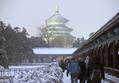 中国北部に大雪、北京で氷点下16度