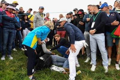 ゴルフボール直撃で失明の女性、ライダー杯主催者を正式に提訴