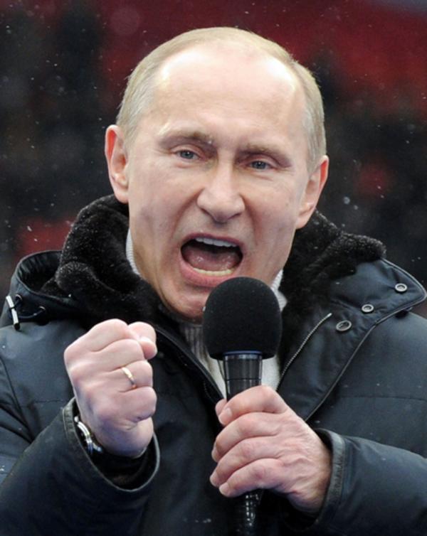 ロシアで革命起こし、プーチン体制転覆を企てる?