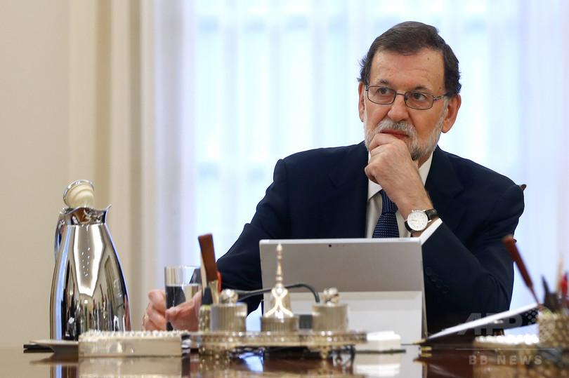 スペイン首相、カタルーニャ州政...