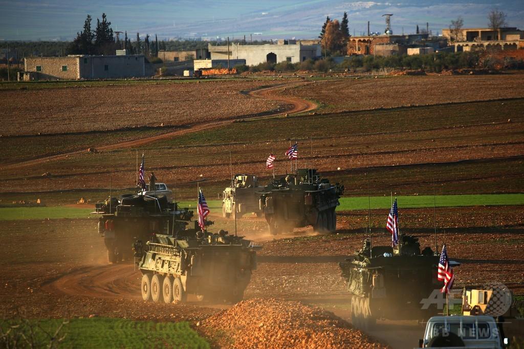 トルコ、米軍のマンビジ撤退を要求 米はクルド人部隊への武器供与停止を表明