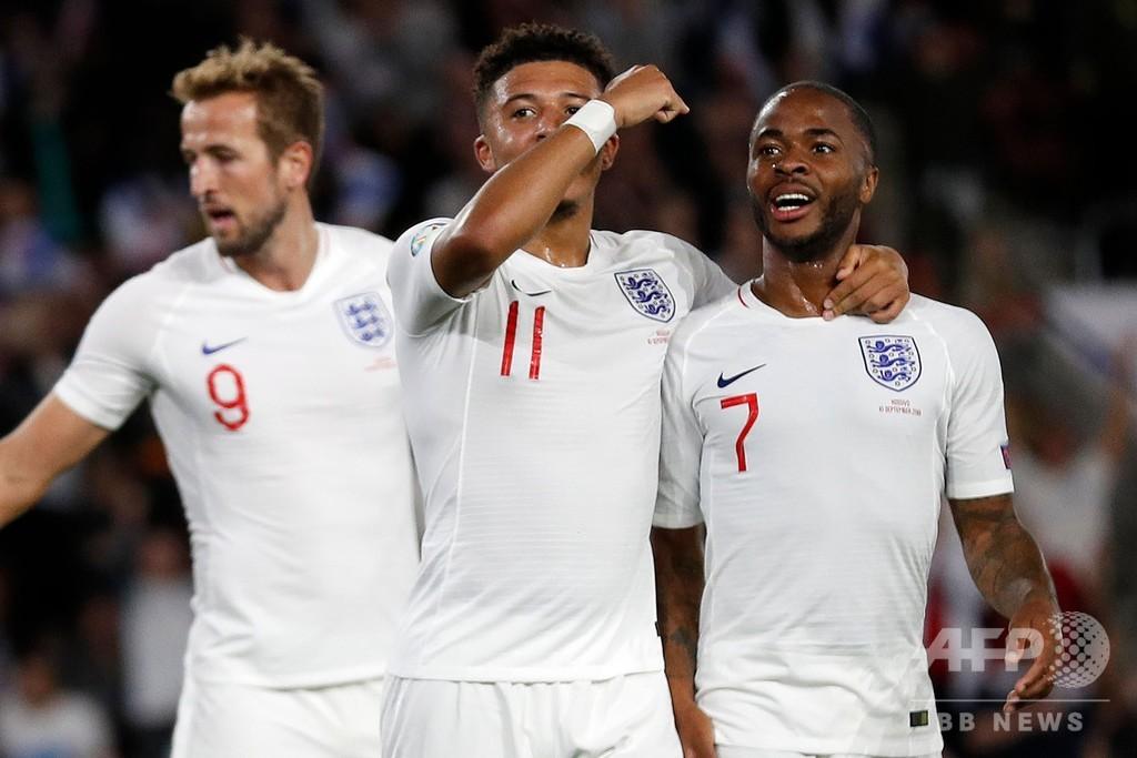 イングランド、開始35秒での失点もコソボとの乱打戦制す