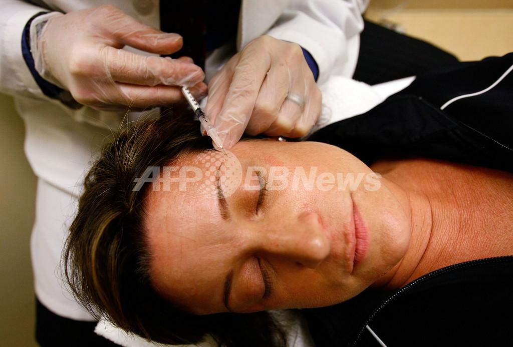 ボトックス注射、偏頭痛の治療で保険診療対象に 英国
