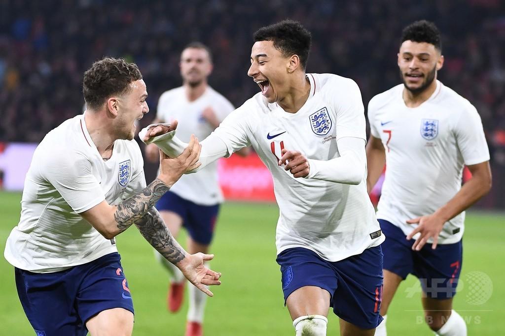 イングランドがオランダに勝利、リンガードの代表初ゴールが決勝点